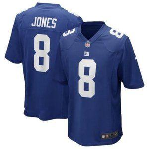 Men's New York Giants Daniel Jones Navy Jersey 8#
